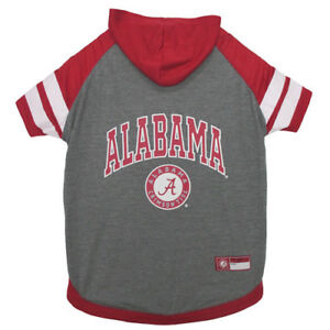 Alabama-Crimson-Tide-Pets-First-Officially-Licensed-Dog-Pet-Hoodie-T-Shirt-XS-L