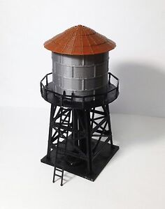 Outland-Models-Train-Railway-Layout-Trackside-Water-Tower-HO-Scale-1-87