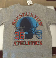 Boy's The Children's Place Mountain View Football Shirt 6-9 M, 24 M, 3t, 4t