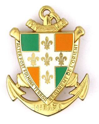badge//insignia Insigne ~ ♦ MILITAIRE ECOLE D/'APPLICATION ARTILLERIE AB.ATLAS