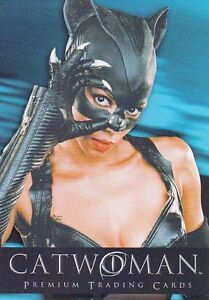 Catwoman The Movie 2004 Inkworks Promo Card P Uk Dc Halle Berry Ebay