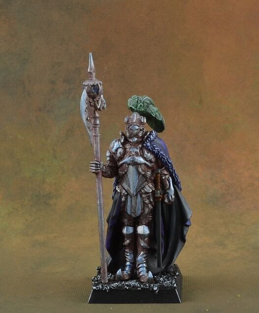 Kingdom Death King's Man, well painted, plastic