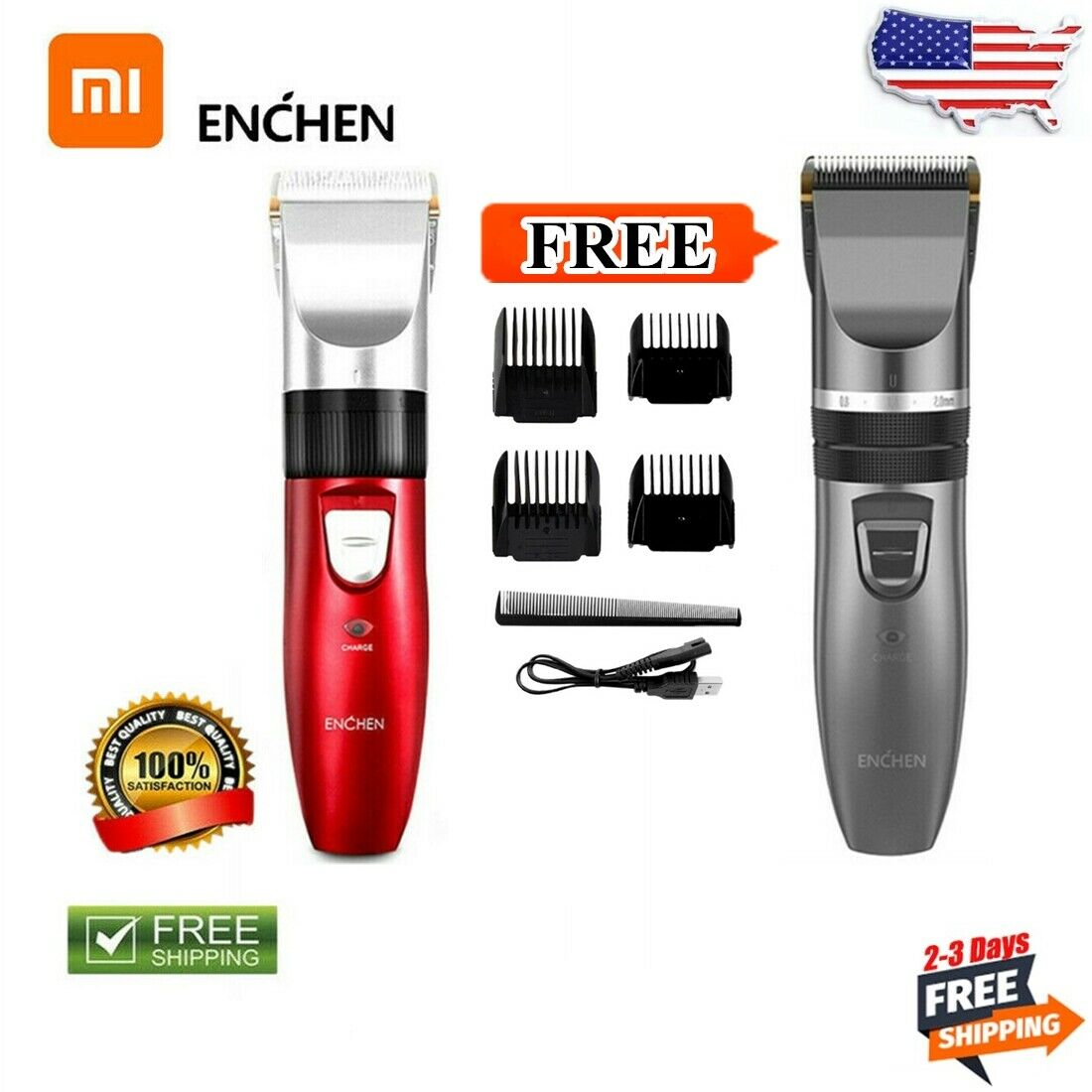 For Men Kids Hair Cutting Grooming Kit Pro Home Hair Clippers Hair Clippers  Mini
