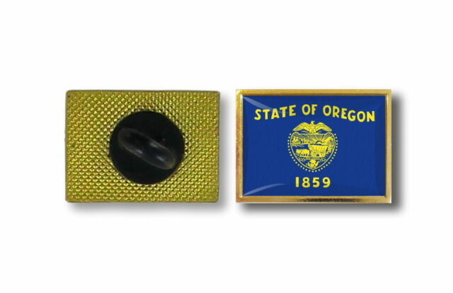 pins pin's flag national badge metal lapel hat button vest usa oregon