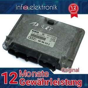 Motorsteuergerät 06A906018D 06A 906 018 D 0261204253//254 AUDI A3 VW TESTED 100/%