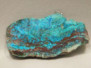 Chrysocolla-Malachite-Cuprite-2-65-inch-Polished-Slab-Stone-Small-Arizona-25