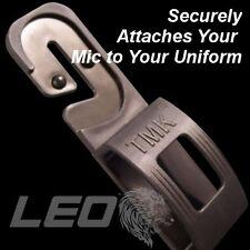 Tactical Mic Klip Speaker Mic Holder Shirt Clip Attachment EMT FIRE POLICE Radio