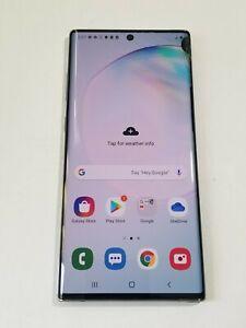 Samsung Galaxy Note 10 Plus - Aura Glow - 256GB - Unlocked - Screen Crack #AG330