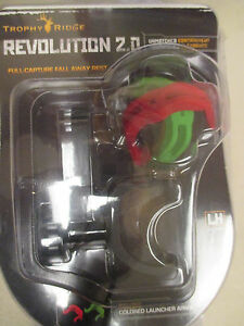 New Trophy Ridge Revolution Bow Hunting Rest Drop Away 2.0 LH Black Left Hand