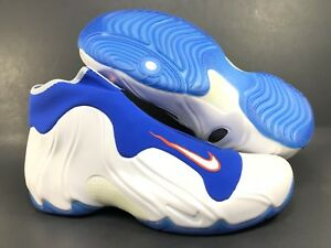 low priced 29f8e b5583 Image is loading NIKE-AIR-FLIGHTPOSITE-2014-034-KNICKS-034-White-