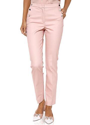 "Ashley Brooke by Heine Tailored Trousers 10 Uk Leg 28/"" BNWT RRP £48.99 Rose"