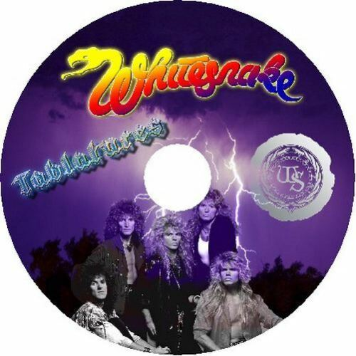 WHITESNAKE BASS /& GUITAR TAB CD TABLATURE GREATEST HITS BEST OF ROCK USA MUSIC