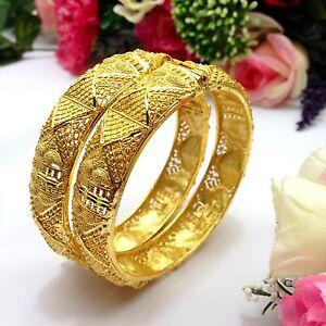 Indian Asian Size 2 10 Bridal Pakistani Jewellery 22ct Gold Plated