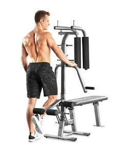 Home Gym Equipment In Home Gym Bench Press up to 200lb, Butterfly up to 100lb