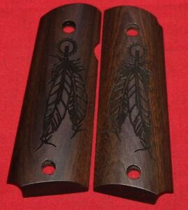 Colt-Firearms-Full-Size-1911-Grips-feathers
