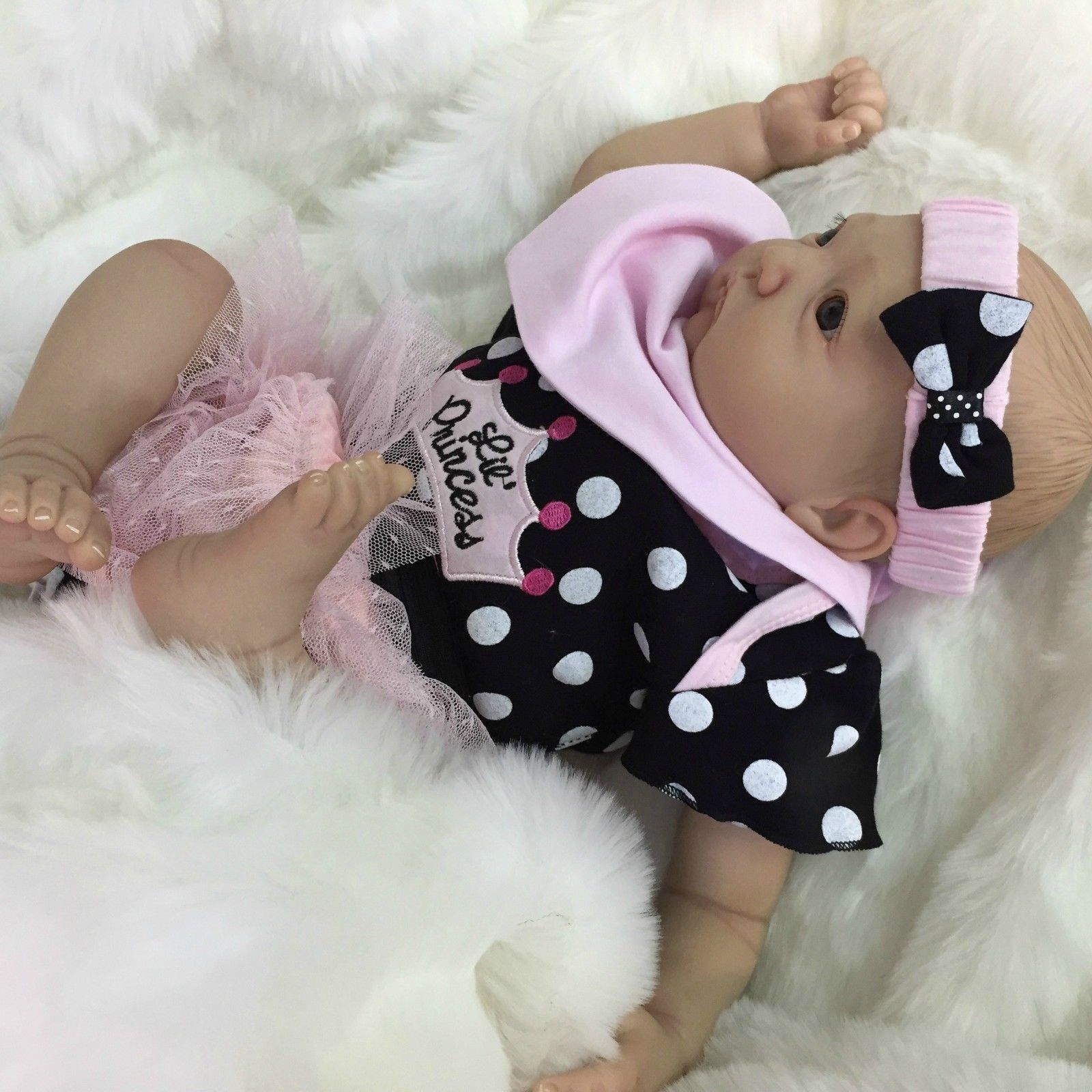 CHERISH DOLLS NEW REBORN REBORN REBORN DOLL MORGAN BABY FAKE BABIES REALISTIC 22  NEWBORN GIRL f9c122