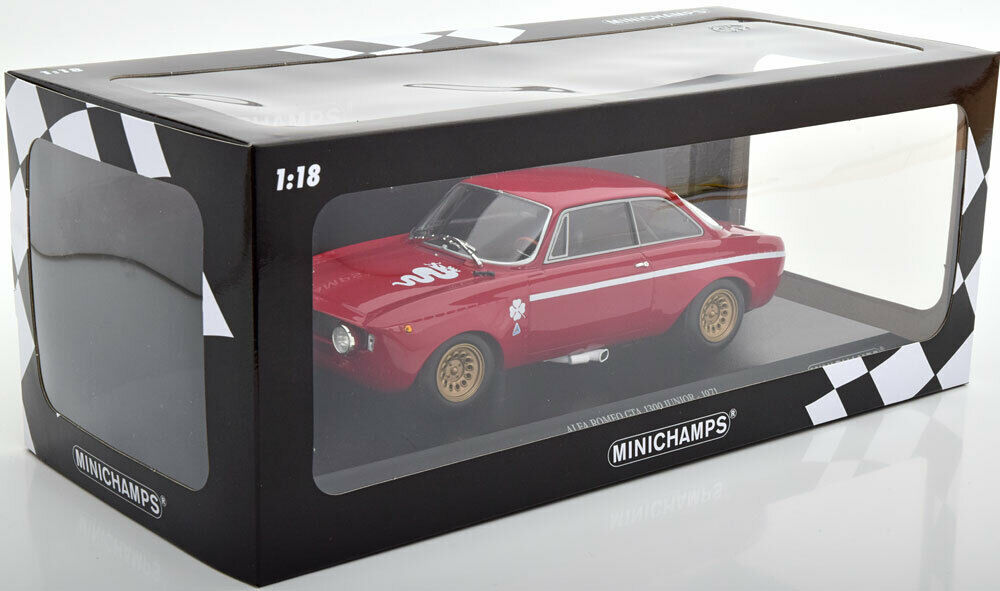 1 18 Minichamps Alfa Romeo GTA 1300 Junior 1971  Scale Diecast Model voiture  boutique en ligne