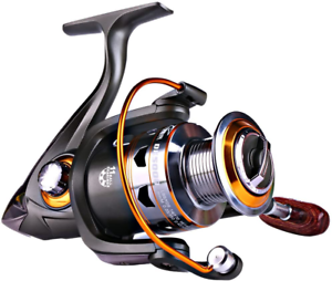 Sougayilang Spinning Fishing Reels with Left/Right Interchangeable Collapsible W