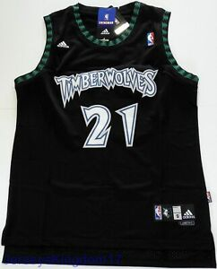 ebff98022 Image is loading Swingman-Basketball-Jersey-KEVIN-GARNETT-21-Minnesota- Timberwolves-