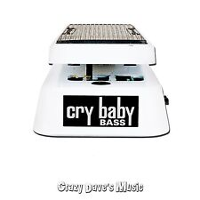Dunlop CBM105Q Cry Baby Mini Bass Wah w/Free Patch Cables