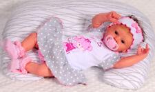 Spieler 56 62 68 74 80 Baby Kurzarmbody Romper Body rosa aus Musselin Stoff