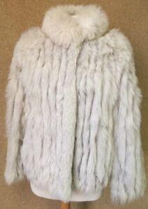 Silver Saga Miller Chic foderato Fox Rhoads Vintage Boho Sz Passeggino M 5FqdXZw