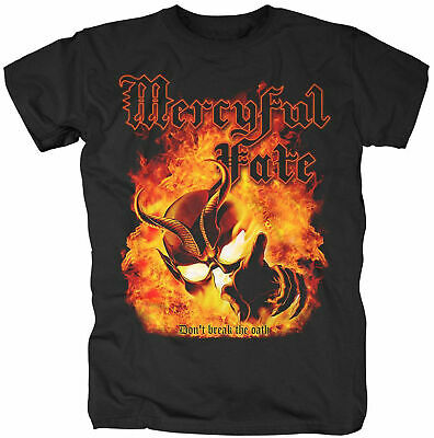 GILDAN Black Shirt S tour Mercyful Fate DON/'T BREAK THE OATH 1984 U.S 2XL