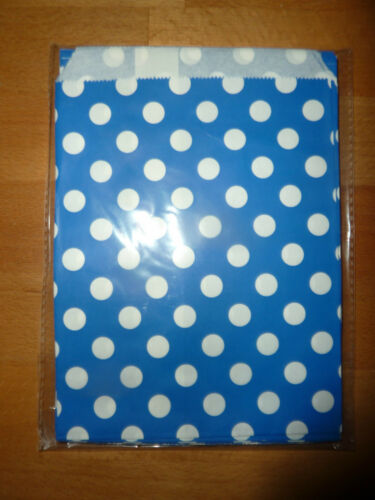 Paper sweet bags sweetie dot spot wedding party birthday UK Stock Quantity x 25