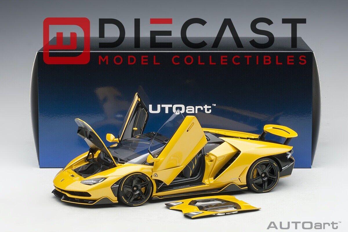 AUTOart 79117 Lamborghini Centenario Roadster (Pearl Yellow) 1 18TH Scale
