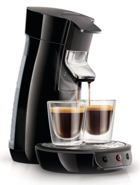philips senseo hd7825 schwarz 4 tassen kaffeepadmaschine. Black Bedroom Furniture Sets. Home Design Ideas