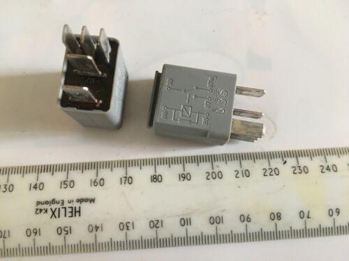 2 X Micro Mini Relé 5 Pin 12V10//20A Coche Camioneta Bote