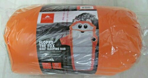 FLOPPY THE FOX Kids/' Sleeping Bag~OZARK TRAIL~NEW in bag