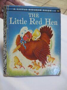 The little red hen golden book