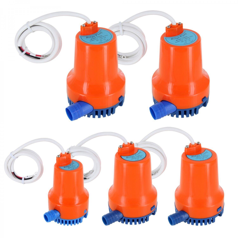 Plastimo Bilgepumpe Bilgenpumpe Lenzpumpe Pumpe Spannungs- und Leistungswahl
