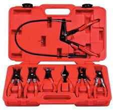 Astro Pneumatic 7-Piece Hose Clamp Pliers Assortment Kit 9406