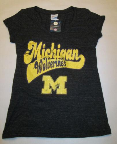 Michigan Wolverines Campus Lifestyle Women/'s Short SleeveT-Shirt
