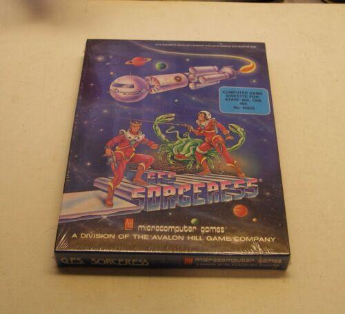 NEW RARE GFS Sorceress by Avalon Hill for Atari 800 Diskette Version