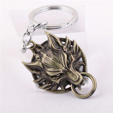 Final Fantasy VII 7 FF Cloud Wolf Key Ring Alloy Metal Keychain