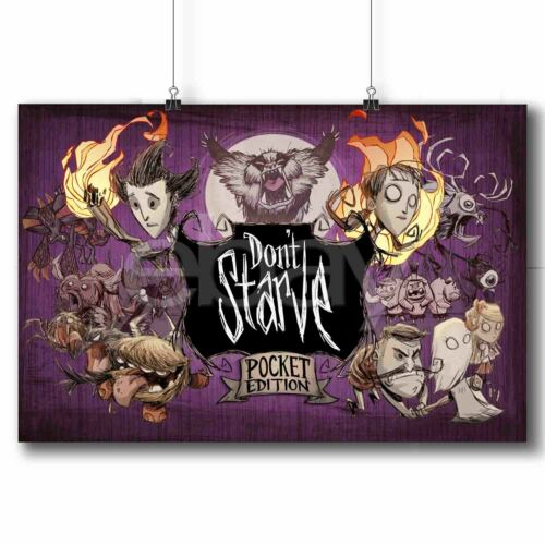 Don't Starve Pocket Edition Custom Poster Print Art Wall Decor