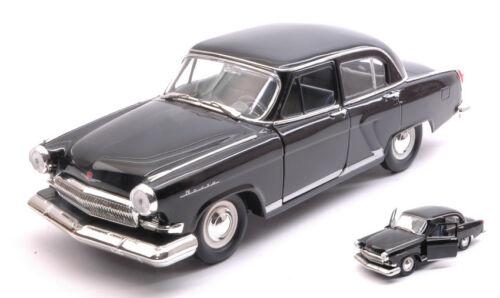 russian Car 1970 Black 1:24 Model LUCKY DIE CAST Gaz 21