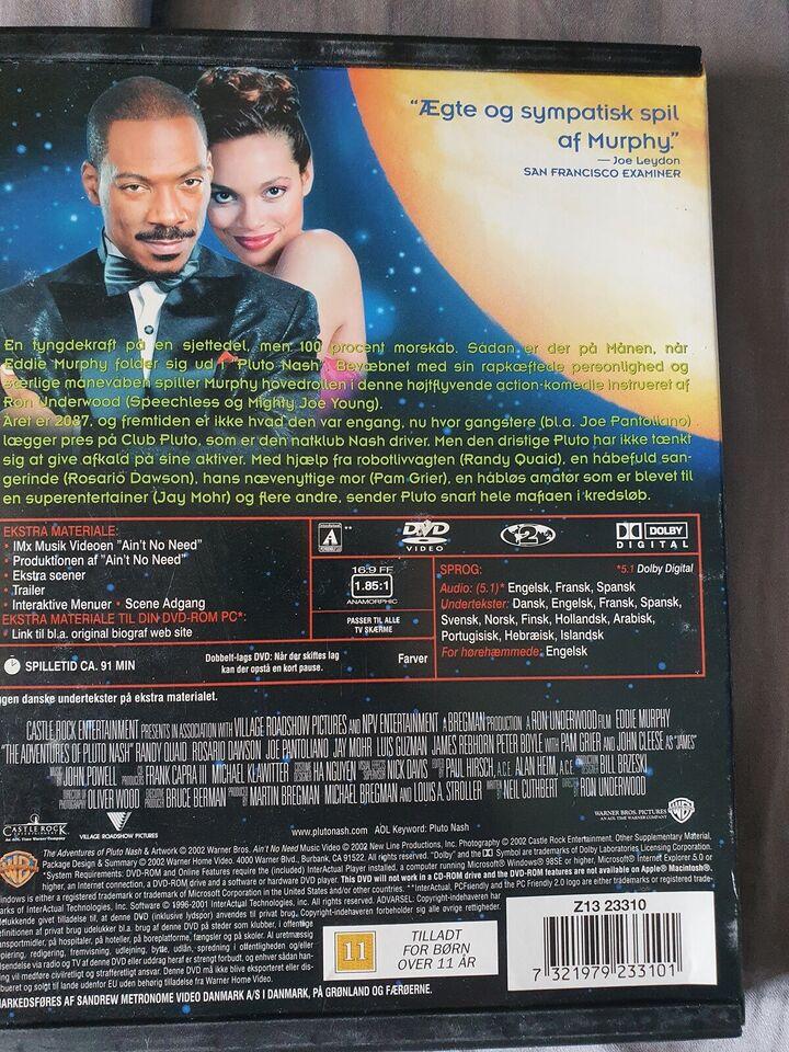 Pluto Nash, instruktør Ron Underwood, DVD
