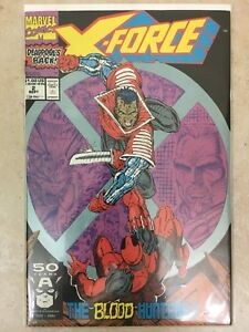 X-Force-2-Sep-1991-Marvel-2nd-Appearance-of-Deadpool-VF-NM-9-0-9-4