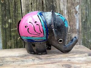 Elephant Tea Light Candle Holder Incense Burner Lantern Large Pink Ebay