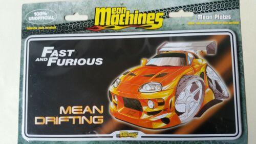 100/% Officiel Mean Machine plaques .4 Plaques 10 £.