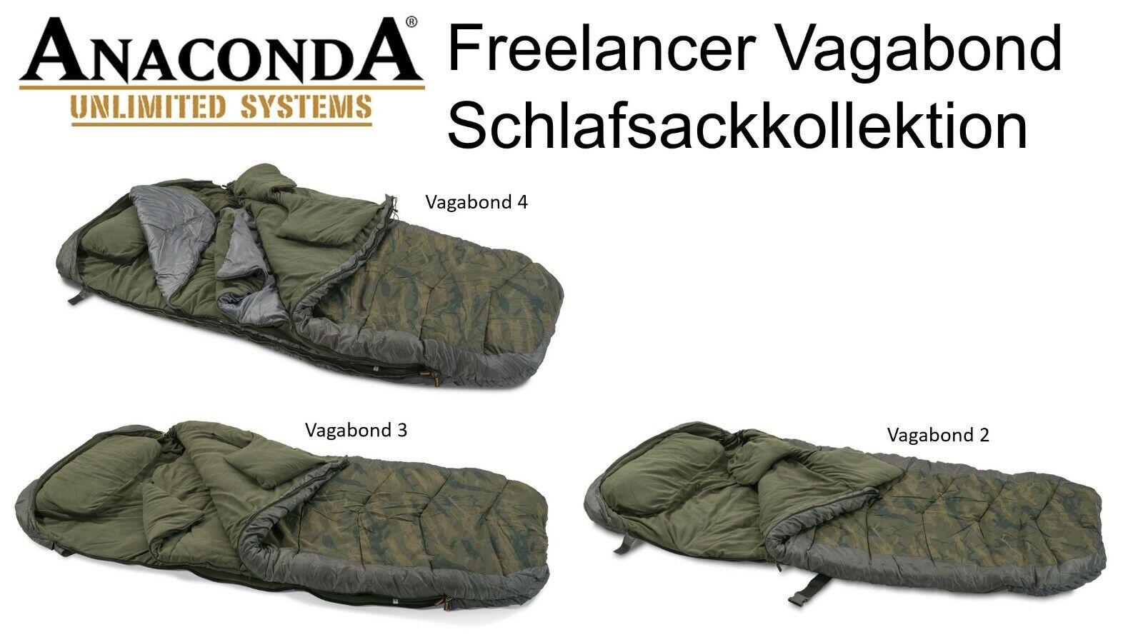 Anaconda Freelancer Vagabond - Schlafsackkollektion im High End Bereich.