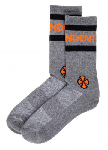 Skateboard Socks INDEPENDENT TRUCK CO/' Charcoal Heather Stage Sock