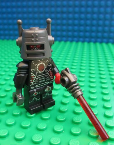 Lego Robot Spaceman Minifig City Space Android Laser 8833 Minifigures Series 8