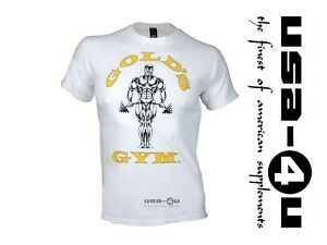 Golds-Gym-Classic-Logo-Basic-T-Shirt