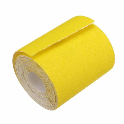 Sandpaper Continuous Roll sticky long board 9.3cm 40 60 80 120 180 Grit 5 mters
