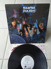 SHOK PARIS - CONCRETE KILLERS / RARE / NEAR MINT ACOUSTICALLY